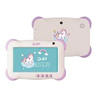 TABLET GHIA 7 KIDS/QUADCORE/1GB/8GB/2CAM/WIFI/ANDROID 8.1 GO/VIOLETA