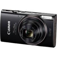 CAMARA CANON POWERSHOT ELPH 360 HS NEGRA, 12X, WI FI, NFC, 20.2 MP