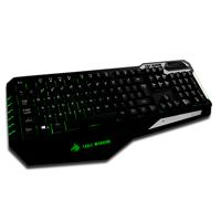 TECLADO EAGLE WARRIOR MODELO TANK CONECTOR USB PLIG  AND  PLAY /  RETROILUMINACION / PC / GAMER EAGL