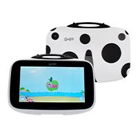 TABLET GHIA KIDS 7 GTABKIDSB/QUAD CORE/1GB/8GB/2CAM/WIFI/BLUETOOTH/ANDROID 8.1 GO EDITION/ CATARINA BLANCA CON NEGRO