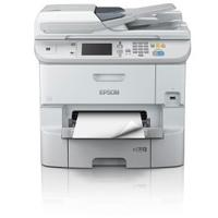 MULTIFUNCIONAL EPSON WORKFORCE PRO WF-6590, PPM 34 NEGRO/COLOR, INYECCION DE TINTA, USB. WIFI, RED, NCF, ADF, FAX, DUPLEX, CAMA OFICIO