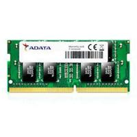 MEMORIA ADATA SODIMM DDR4 4GB PC4-19200 2400MHZ CL15 260PIN 1.2V LAPTOP ADATA AD4S2400J4G17-S