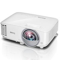 VIDEOPROYECTOR BENQ DLP MW826ST WXGA 3400 LUMENES LAMPARA DE 15,000 HORAS, CONTRASTE 20,000:1 TIRO CORTO 0.49 HDMIX2 (MHL), USB TIPO A, BOCINA 10W X 1