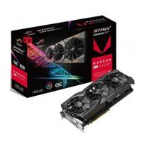T. DE VIDEO ASUS AMD ROG STRIX RADEON RX VEGA54 O8G GAMING / 8GB / HBM2 / ESTANDAR / DVI+2HDMI+2DP A