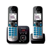 TELEFONO INALAMBRICO KX-TG6822MEB BASE EXTENCION CON CONTESTADORA DIGITAL PANASONIC KX-TG6822MEB