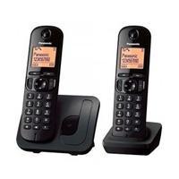 TELÉFONO INALAMBRICO KX-TGC212  2 AURICULARES NEGRO. PANASONIC KX-TGC212MEB
