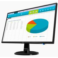 MONITOR LED HP 23.8 N246V RESOLUCION (1920 X 1080)/VGA-HDMI-DVI/VESA 100/3-3-3