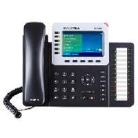 TELFONO IP COLOR GIGABIT PARA 6 LNEAS 6 CUENTAS SIP AUDIO HD BLUETOOTH 2.1 24 TECLAS PROGRAMABLES POE Y FUENTE DE ALIMENTACION INCLUIDA