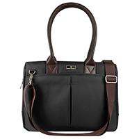 BOLSO PARA MUJER CITY CHIC LAPTOP 14PULGADAS  PERFECT CHOICE NEGRO