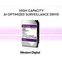 DD INTERNO WD PURPLE 3.5 12TB SATA3 6GB / S 256MB 24X7 PARA DVR Y NVR DE 1-16 BAHIAS Y 1-64 CAMARAS