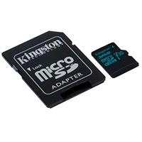 MEMORIA KINGSTON MICRO SDHC CANVAS GO! 32GB UHS-I U3 CLASE 10 C/ADAPTADOR