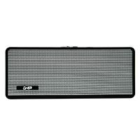 BOCINA BLUETOOTH BX500B GHIA NEGRA /5W X2 AUX /TWS/ RADIO FM/ MICRO SD CARD/USB