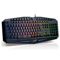 TECLADO GENIUS INTELIGENTE SCORPION K220 GAMER GENIUS 31310475101
