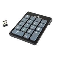 TECLADO NUMERICO INALAMBRICO PERFECT CHOICE USB NEGRO/GRIS PC-201014
