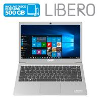 PORTATIL GHIA LIBERO SL FULL METAL BODY 13.3 IPS/ PENTIUM N4200/ 4GB/32GB/HDMI/ WIFI/ BT/ W10HOME/DISCO DURO EXTERNO 500GB