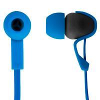 AUDIFONOS IN-EAR MOBIFREE CON MICROFONO COLECCION URBAN KAOS AZUL / ESTUCHE INCLUIDO MB-916400