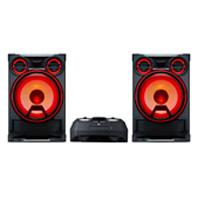 MINICOMPONENTE LG CK99 5000W, CD/MP3/WMA/BLUETOOTH/AUX, PRO DJ, KARAOKE STAR, EFECTOS VOCALES, LUCES LED, NEGRO