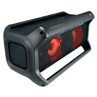 BOCINA PORTATIL LG PK7 40W, MULTIBLUETOOTH(2) BAT HASTA 22HRS, RESISTENTE A SALPICADURA DE AGUA, LUCES LED, COLOR NEGRO
