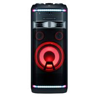 MINICOMPONENTE ONEBODY LG OK99 1,800 W, CD/FM/AUX, MULTIBLUETOOTH(3), MULTIUSB(2), KARAOKE STAR, EFECTOS VOCALES, LUCES LED, COLOR NEGRO