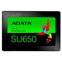 UNIDAD DE ESTADO SOLIDO SSD ADATA SU650 960GB 2.5 SATA3 7MM LECT.520/ESCR.450MBS SIN BRACKET PC LAPTOP