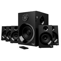 BOCINAS LOGITECH Z607 NEGRAS 5.1 80 WATTS RMS BLUETOOTH CON RANURA PARA TARJETAS SD PC/MAC/MP3/IPOD/DVD