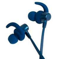 AUDÍFONOS MOBIFREE/ ACTECK  IN-EAR BLUETOOTH CON MICROFONO COLECCION METALICOS COLOR AZUL MB-02023