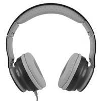 AUDIFONOS MOBIFREE/ ACTECK ON-EAR CON MICRÓFONO COLECCIÓN URBAN KAOS NEGRO