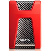 DISCO DURO EXTERNOERNO 1TB ADATA HD650 2.5 USB 3.1 CONTRAGOLPES ROJO WINDOWS/MAC/LINUX