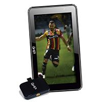 BUNDLE TABLET GHIA A7 WIFI/QUAD CORE/1GB8GB/2CAM/WIFI/BT/ANDROID7/NEGRA/Y SINTONIZADOR BASICO DE TV GHIA PARA DISPOSITIVOS MOVILES ANDROID C/1ANTENA L