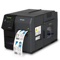 IMPRESORA DE ETIQUETAS EPSON COLOR WORKS TM-C7500G, INYECCION 300 MM/S ANCHO 104 MM 1200 X 600 DPI USB RED
