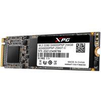 UNIDAD DE ESTADO SOLIDO SSD ADATA XPG SX6000 NVME M.2 2280 256GB M.2 PCIE GEN 3X4 3DNAND LECT.2100MB/S ESCRIT 1500MB/S PC/GAMER/ALTO RENDIMIENTO