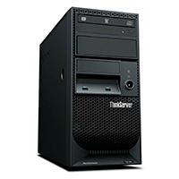 SERVIDOR LENOVO THINKSERVER TS150/TORRE 4U/XEON E3 1205 V6 4C 3.0GHZ/1X8GB RAM/DD 1X1TB 3.5 SATA 7.2K/ DVDRW/1X250W/SIN SO/3 AÑOS DE GARANTIA 24X7X4HR