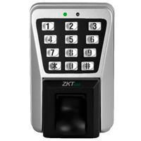 CONTROL DE ACCESO ZK / BIOMETRICO PARA EXTERIOR IP 65 / 3000 HUELLAS / TCP IP / 30,000 TARJETAS ID / TECLADO /