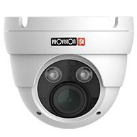 CÁMARA PROVISION ISR, DOMO IP, 5 MP, IR 25 MTS  LENTE VARIFOCAL MOTORIZADO 3.3 A 12 MM, SERIE S-SIGHT, ONVIF, POE, H.265.