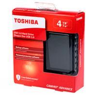 DISCO DURO EXTERNOERNO 4TB TOSHIBA CANVIO ADVANCE 2.5//USB 3.0//NEGRO//VELOCIDAD DE TRANSFERENCIA 5GB/S//PASSWORD PROTECTION/SOFTWARE DE RESPALDO//WIN10