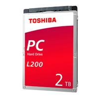 DD INTERNO TOSHIBA L200 2.5 2TB//SATA3//6GB/S//128MB CACHE//5400RPM//9.5MM/P/NOTEBOOK//PORTATIL//LAPTOP