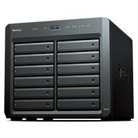NAS SYNOLOGY DS2419 12 BAHIAS AMPLIABLES HASTA 24/NCLEO CUADRUPLE 2.1 GHZ/4GB DDR3L/LAN GIGABITX4/USB 3.0 X2