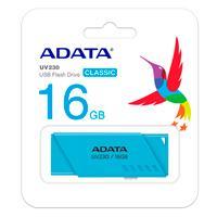 MEMORIA ADATA 16GB USB 2.0 UV230 AZUL