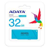 MEMORIA ADATA 32GB USB 2.0 UV230 AZUL