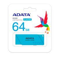 MEMORIA ADATA 64GB USB 2.0 UV230 AZUL