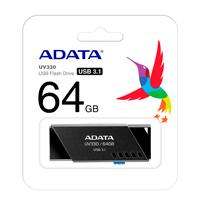 MEMORIA ADATA 64GB USB 3.1 UV330 RETRACTIL NEGRO