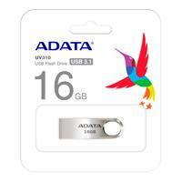 MEMORIA ADATA 16GB USB 3.1 UV310 METALICA