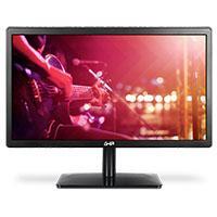 MONITOR LED GHIA HD / 19.5 PULGADAS / NEGRO / VGA-HDMI