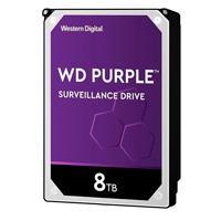 DD INTERNO WD PURPLE 3.5 8TB SATA3 6GB/S 256MB 24X7 PARA DVR Y NVR DE 1-16 BAHIAS Y 1-64 CAMARAS