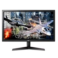 MONITOR GAMER LED LG 24GL600F 23.6 FHD 1920X1080 1MS, 144HZ DISPLAYPORT(1) HDMI(2) AUX, NEGRO