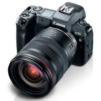 CAMARA CANON EOS R RF24 - 105MM F/4 L IS USM + ADAPTADOR EF-EOS R 33.3 MP 4K UHD, FULL HD, LCD 3.1 WIFI BLUETOOTH