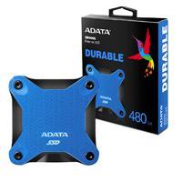 UNIDAD DE ESTADO SOLIDO SSD EXTERNO ADATA SD600Q 480GB USB 3.1  AZUL WINDOWS/MAC/LINUX/ANDROID