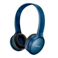 AUDIFONOS BLUETOOTH TIPO DIADEMA (ON-EAR) PANASONIC RP-HF410BPUA, COLOR AZUL, FUNCION MANOS LIBRES/MICROFONO, 24 HORAS DE REPRODUCCION CONTINUA, ULTRA
