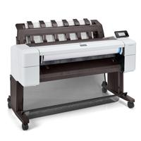 PLOTTER HP DESIGNJET T1600, 36 PULGADAS, 91 CM IMPRESORA, 6 TINTAS (3EK10A)