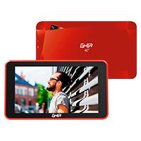 TABLET GHIA A7 WIFI/QUADCORE/A50/WIFI/BT/1GB16GB/0.3MP2MP/2000MAH/ANDROID 8,1 GO/ROJA